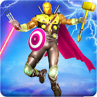 Grand Hybrid superhero: Flying Iron Mutant Hero icon