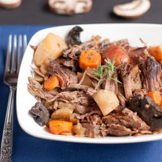 Rosemary Mushroom Pot Roast