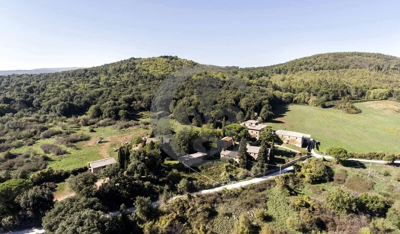 Villa avec piscine et jardin Sovicille