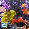 Superheroes Ring Fighting