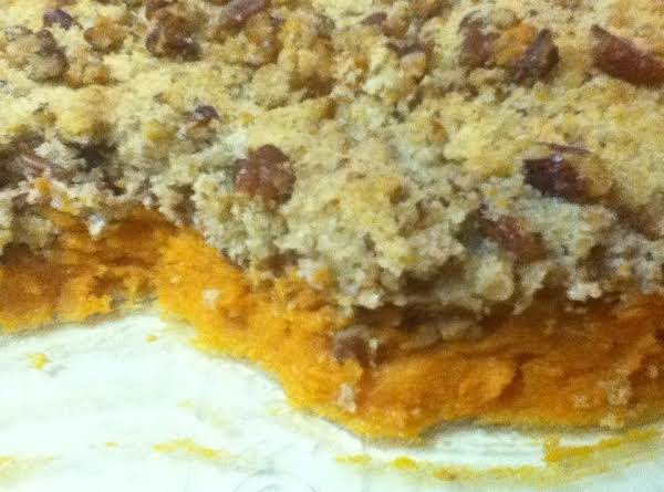 Pecan Streusel Sweet Potato Casserole Recipe
