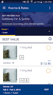 Best Western To Go- screenshot thumbnail