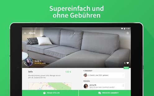 Shpock Flohmarkt & Kleinanzeigen. Verkaufen Kaufen Screenshot