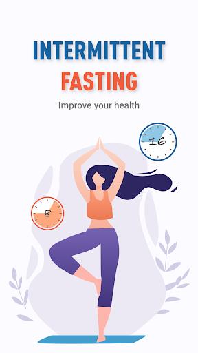 EasyFast Intermittent Fasting App, Simple Tracker screenshot 1