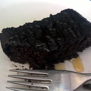 Easy Flourless Chocolate Avocado Cake.