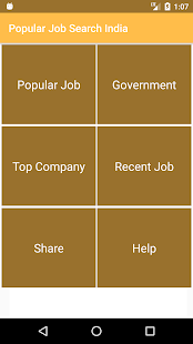 Popular Job Search India- screenshot thumbnail