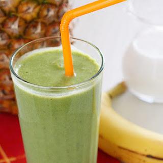 Skinny Green Tropical Smoothie Recipe