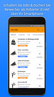Hire Me - Jobs via App- screenshot thumbnail