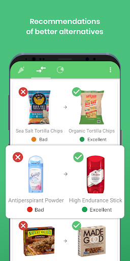 Yuka - food & cosmetic scan  screenshots 5
