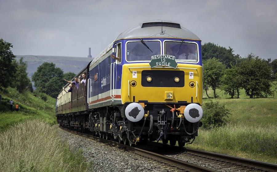 by Philip Goddard - Transportation Trains