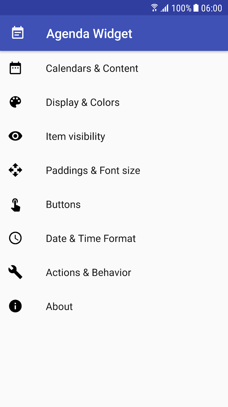 Calendar Agenda Widget (Material Design) Screenshot 6