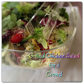 Grilled Chicken Salad for a Crowd