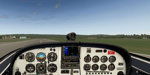 X-Plane GPS - náhled