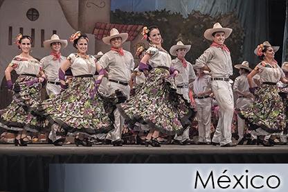 MÉXICO - Ensamble Folclorico Mexicano