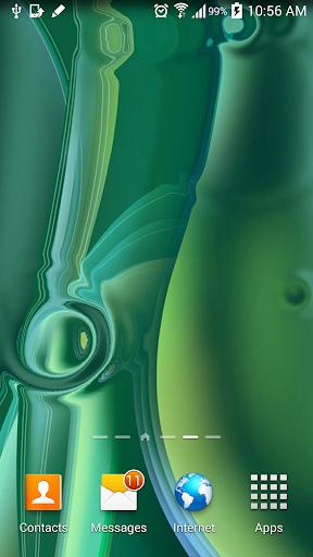 S6 Live Wallpaper Green