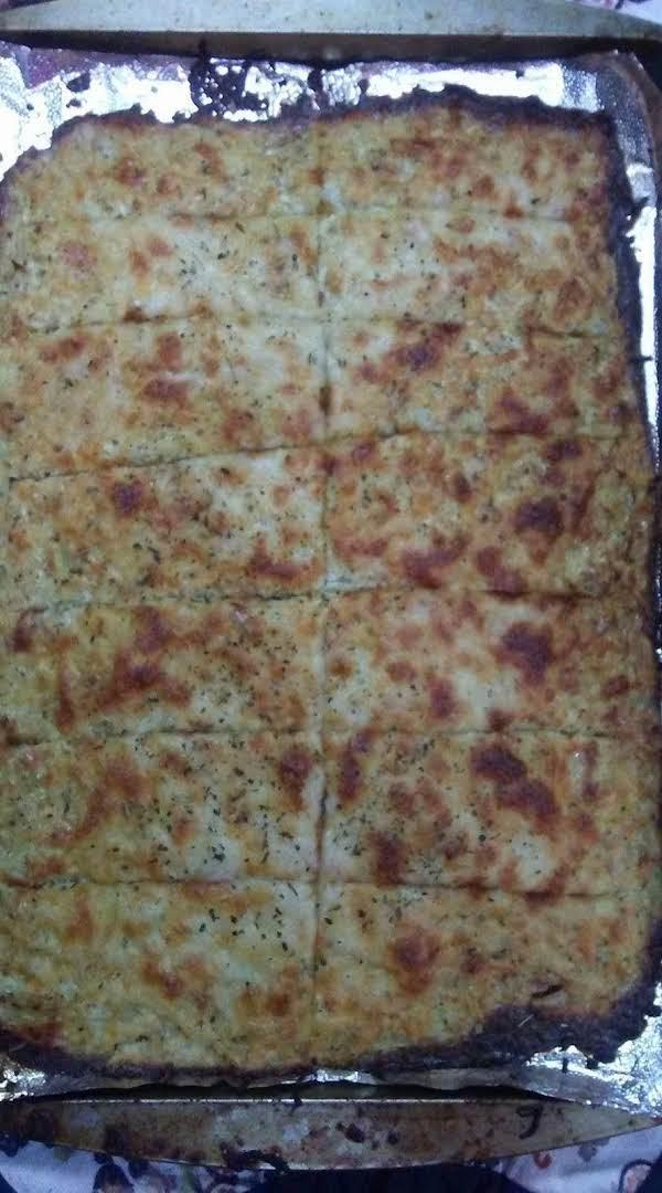 Cauliflower Garlic Cheese Sticks Recipe
