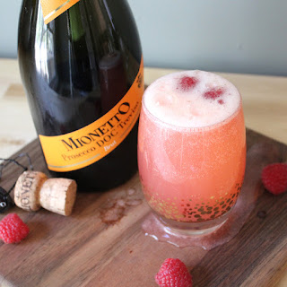 The Blushing Italian 75 (aka Be My Valentine Prosecco Punch)