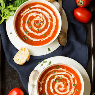 5 Ingredient Tomato Soup.
