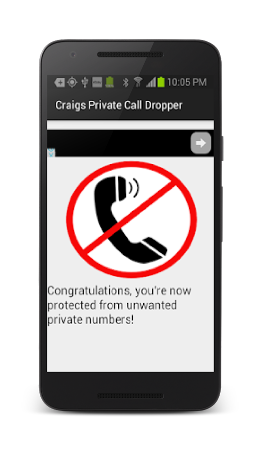 Craig's Private Call Dropper!- screenshot