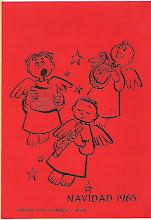 Photo: Postal de Navidad 1965. (Javier Serrano)