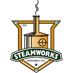 Logo for Steamworks Brewing Co.