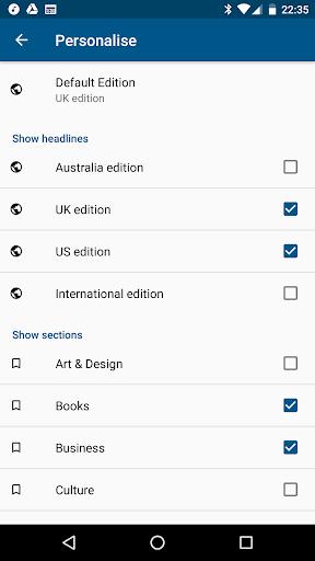 Guardian Reader screenshot 3