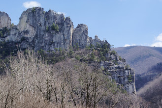Photo: Seneca Rocks viewed from the North