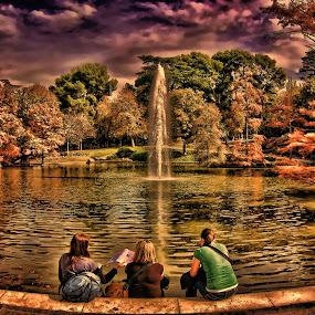 EN EL RETIRO... by Luis Orchevecs Ferenczi - City,  Street & Park  City Parks