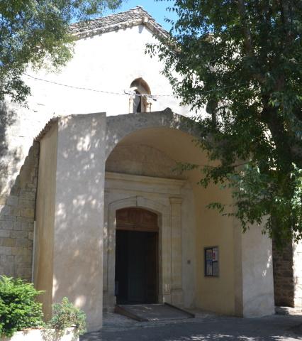 photo de église de Goult