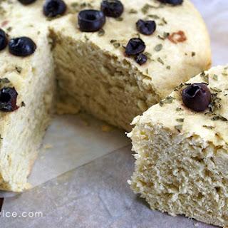 Rosemary Basil Crock Pot Bread.