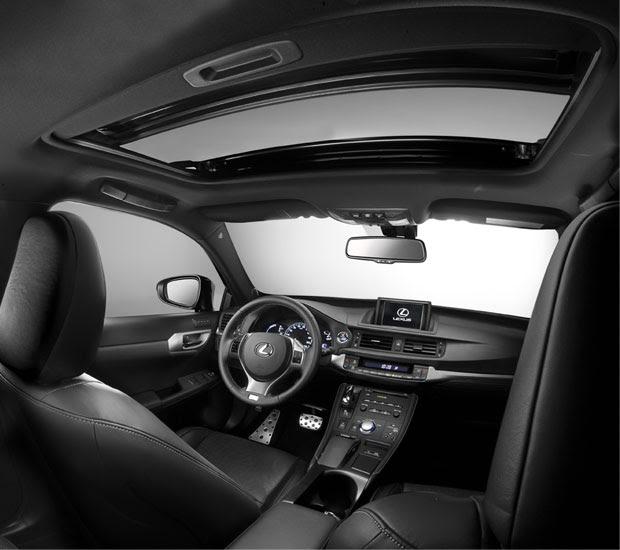 2016 Lexus Ct Interior: Uma Edição Urbana Para Todas As Estradas / Lexus CT 200h