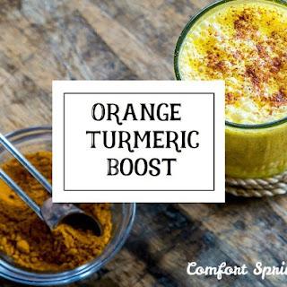 Orange Tumeric Boost – Support Your Immune System Recipe