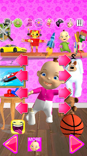 Talking Babsy Baby: Baby Games- screenshot thumbnail