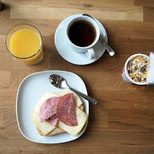 Photo: Ravintolassa nauttimani aamiainen :-)