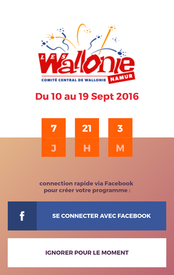 Fêtes de Wallonie- screenshot