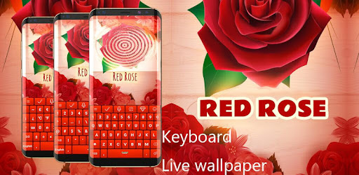 Red Rose Keyboard Apps On Google Play
