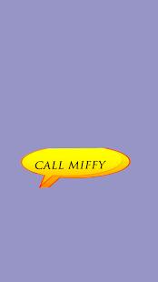 call miffy - náhled