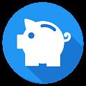 Журнал расходов MoneyApp icon
