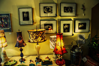 Photo: The Lamps | Lamps at the Wild Goose Gallery in Cumberland, MD © 2011 Ryan Lynham