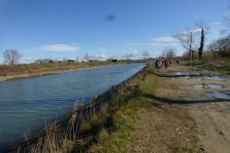 Photo: Canal Philippe Lamour pour irrigation du Languedoc