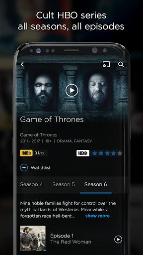 HBO GO screenshot 2
