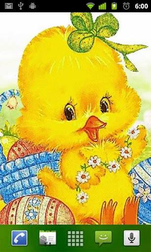 Glitter Chick Live Wallpaper