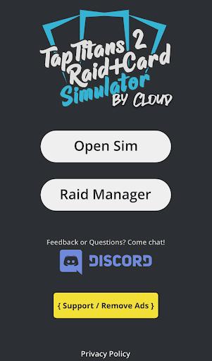 TT2 Raid Optimizer  screenshots 1