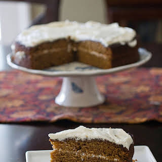 Gingerbread Cake with Whisky Frosting.