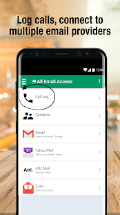 All Email Access with call screening- screenshot thumbnail