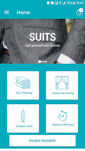 Bueno! Dry Clean Service screenshot