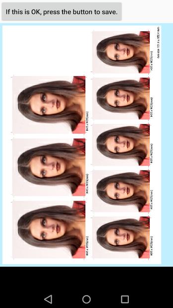 ID Photo application Android App Screenshot