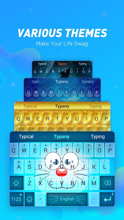 Typany Keyboard - Themes & GIF, DIY, Emoji Maker APK Download
