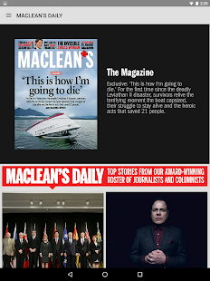 Maclean's Magazine- screenshot thumbnail
