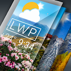 Tiempo Live Wallpapers. Pronóstico Libre icon